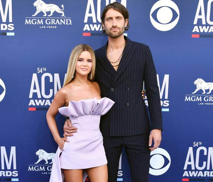 Maren Morris and Ryan Hurd at 54th Annual ACM Awards Ryan Hurd Defends Wife Maren Morris After She Is Mom-Shamed for Drinking on a Floatie With Their Son Hayes