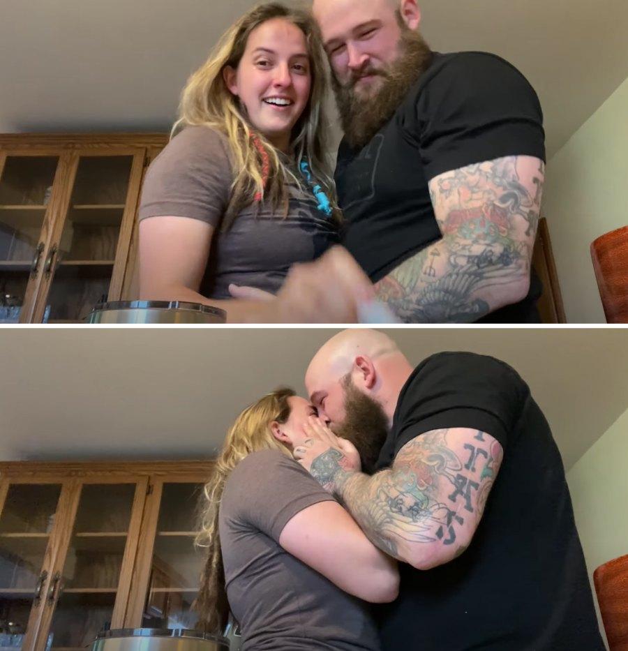 Sarah Logan and Ray Rowe pregnant