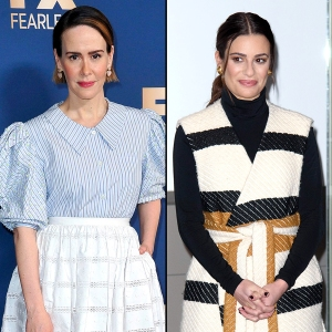 Sarah Paulson Pleads 5th When Asked About Lea Michele Behavior