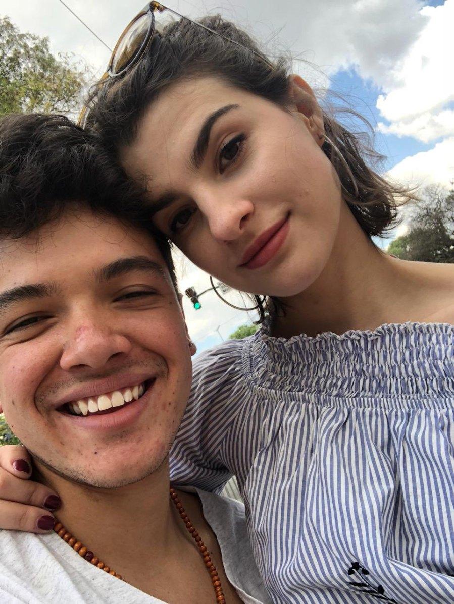 Sebastian Athie dated Agustina Palma 2018