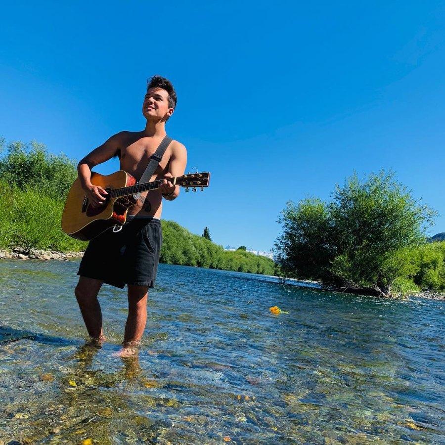 Sebastian Athie played guitar