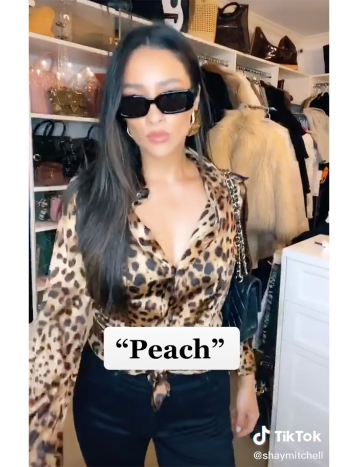 Throwback! Shay Mitchell Rewears 'Pretty Little Liars' Swim Team Tracksuit