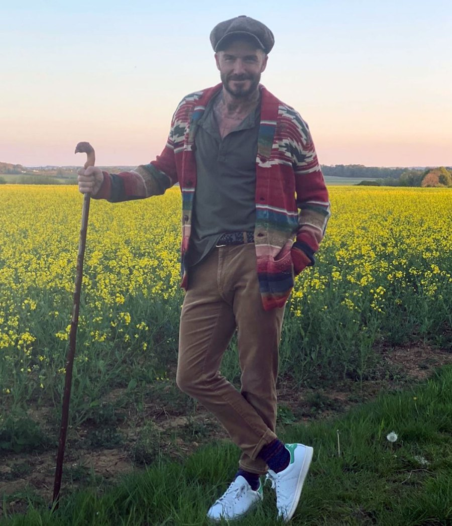 The Reason Why Celebs Keep Posing for Instagram Pics in Fields