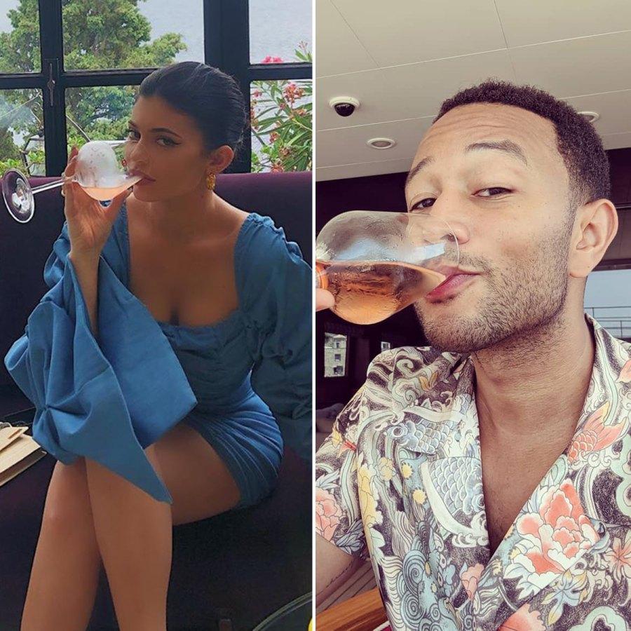 Stars That Love Rose Kylie Jenner John Legend