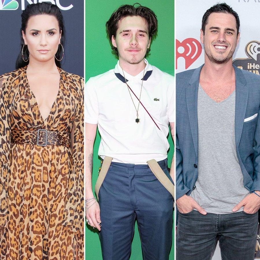 Demi Lovato Brooklyn Beckham Ben Higgins Stars Who Got Engaged Amid the Pandemic