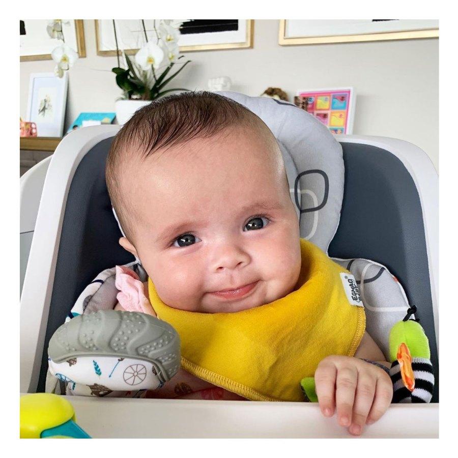 Sweet Smile Teddi Mellencamp Arroyave Daughter Dove Baby Album