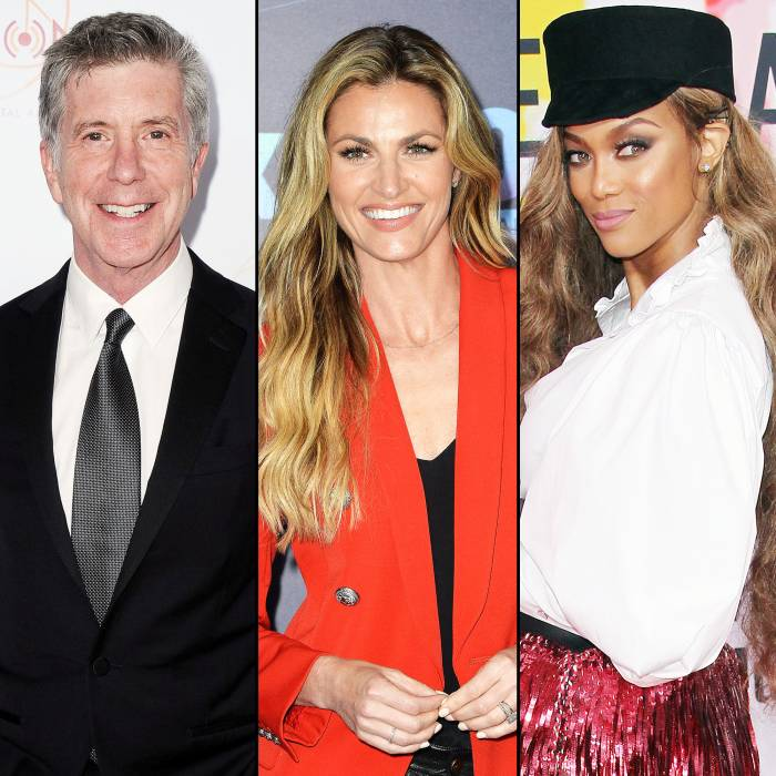 Tom Bergeron and Erin Andrews Joke About How Quickly Dancing With the Stars Replaced Them With Tyra Banks