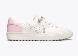 Tory Sport Perforated Golf Sneakers (Cotton Pink)