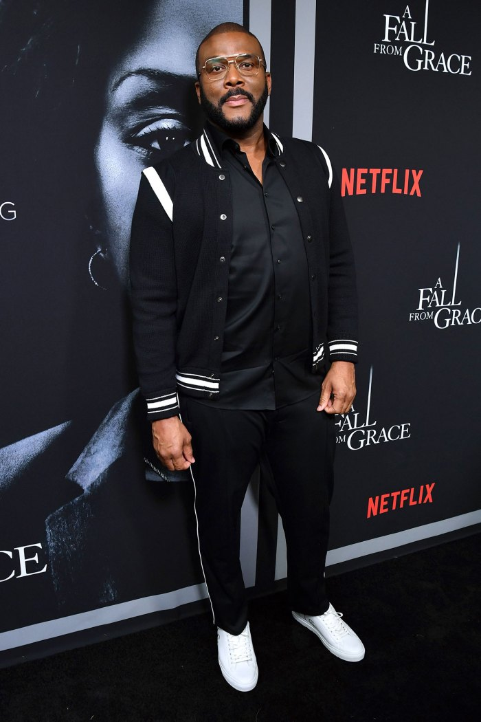 Tyler Perry Pretends to Lose Connection When Asked About Prince Harry and Meghan Markle Staying at His House