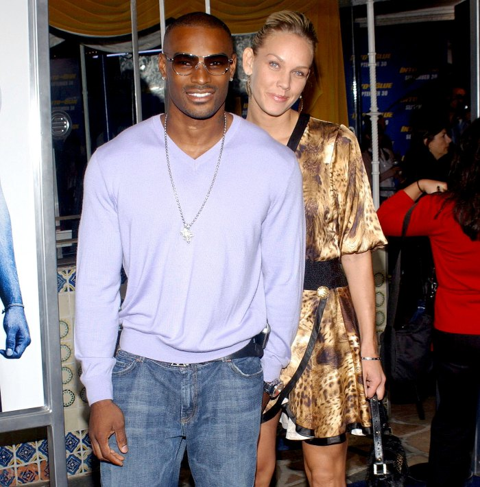Tyson Beckford and April Roomet coparenting