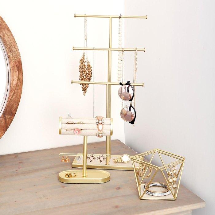 Umbra Gold Jewelry Storage Kit