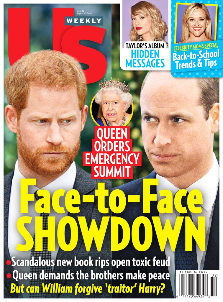 Us Weekly Issue 3220 Cover Prince Harry vs Prince William Padma Lakshmi No Perfect Balance Coparenting