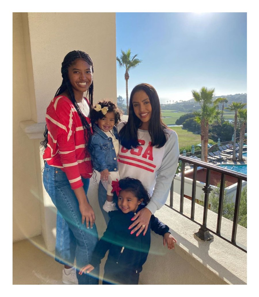 Vanessa Bryant Mom Moments 4th of July