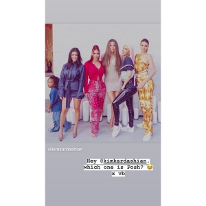 Victoria Beckham Reacts to the Kardashian-Jenners Dressing Up as the Spice Girls