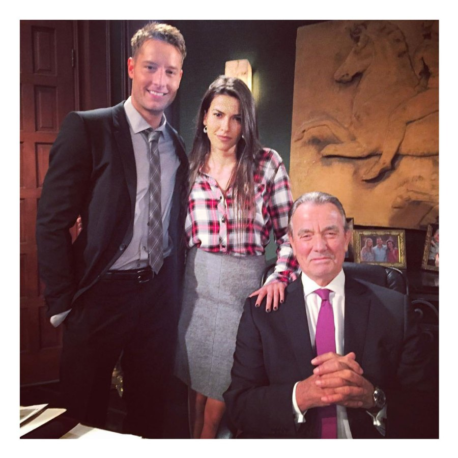 Young and the Restless Justin Hartley and Sofia Pernas Relationship Timeline