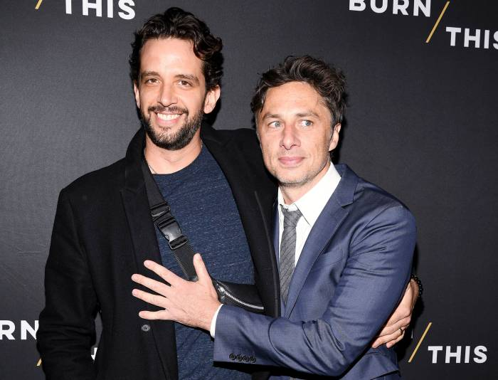 Zach Braff Reveals the Last Text He Got From Close Friend Nick Cordero Before Death