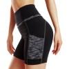 ChinFun High Waist Tummy Control Yoga Shorts With Side Pockets
