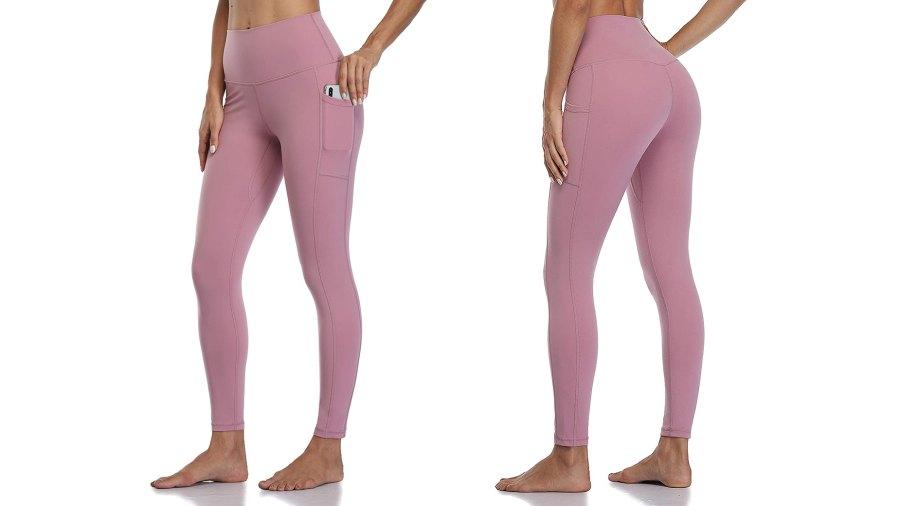 Colorfulkoala High Waisted Yoga Pant Leggings With Pockets