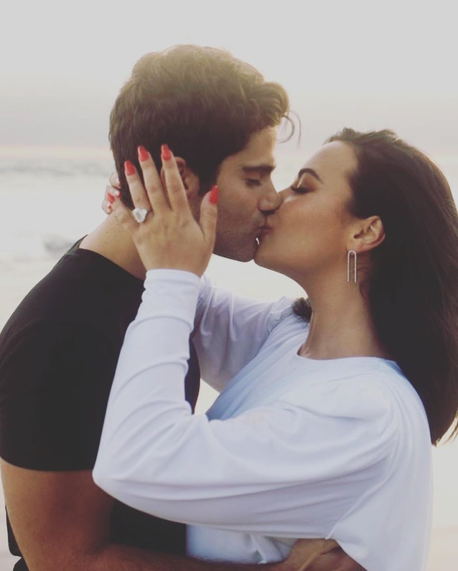 demi lovato max ehrich engaged