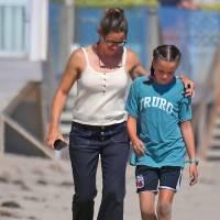 Jennifer-Garner-Beach-Day-Kids