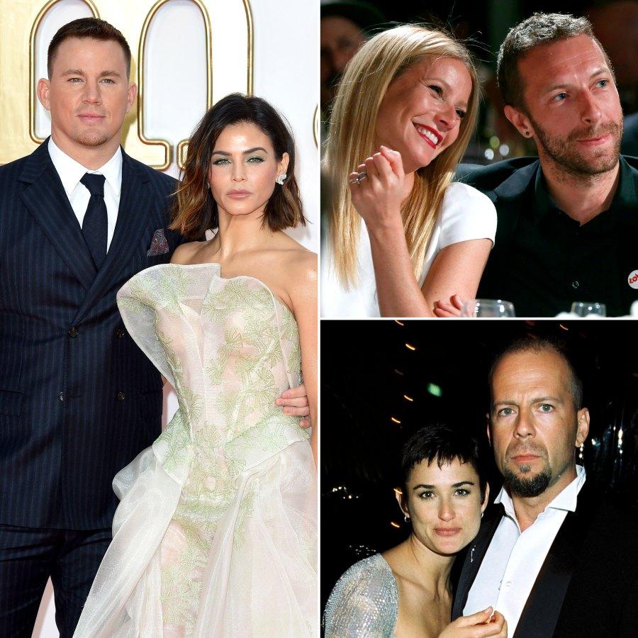 Most Shocking Celebrity Splits