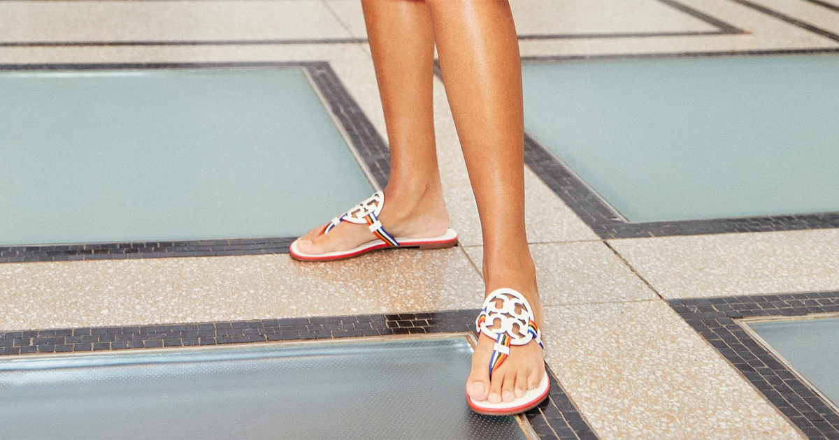 You Can Grab Tory Burch Miller Sandals for Up to 50% Off Right Now