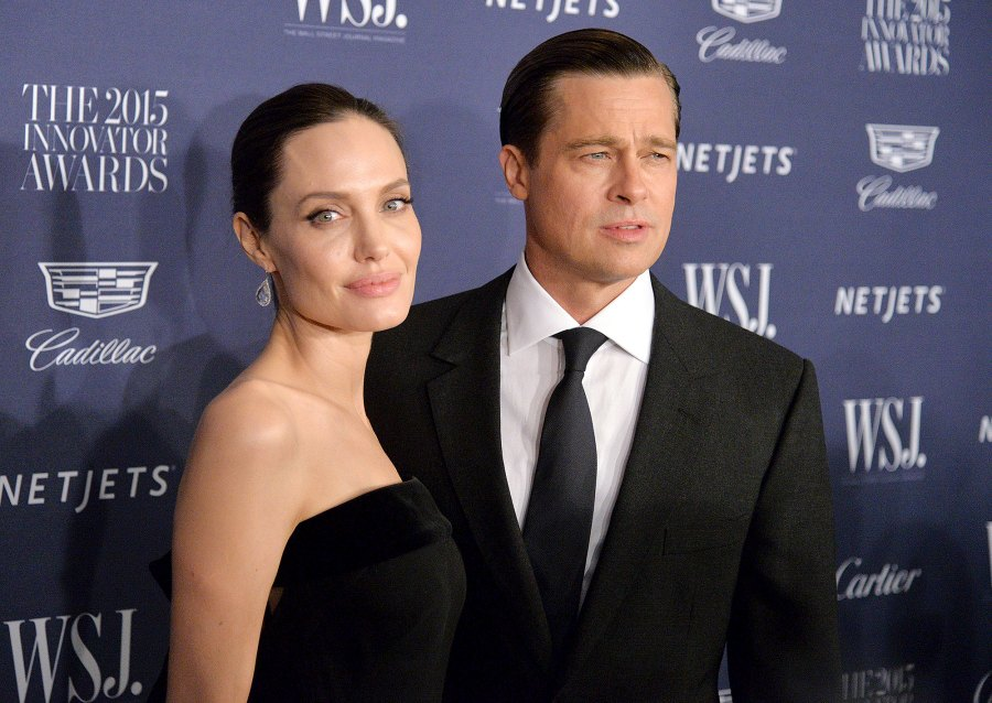 0 Angelina Jolie and Brad Pitt Ups and Downs divorce