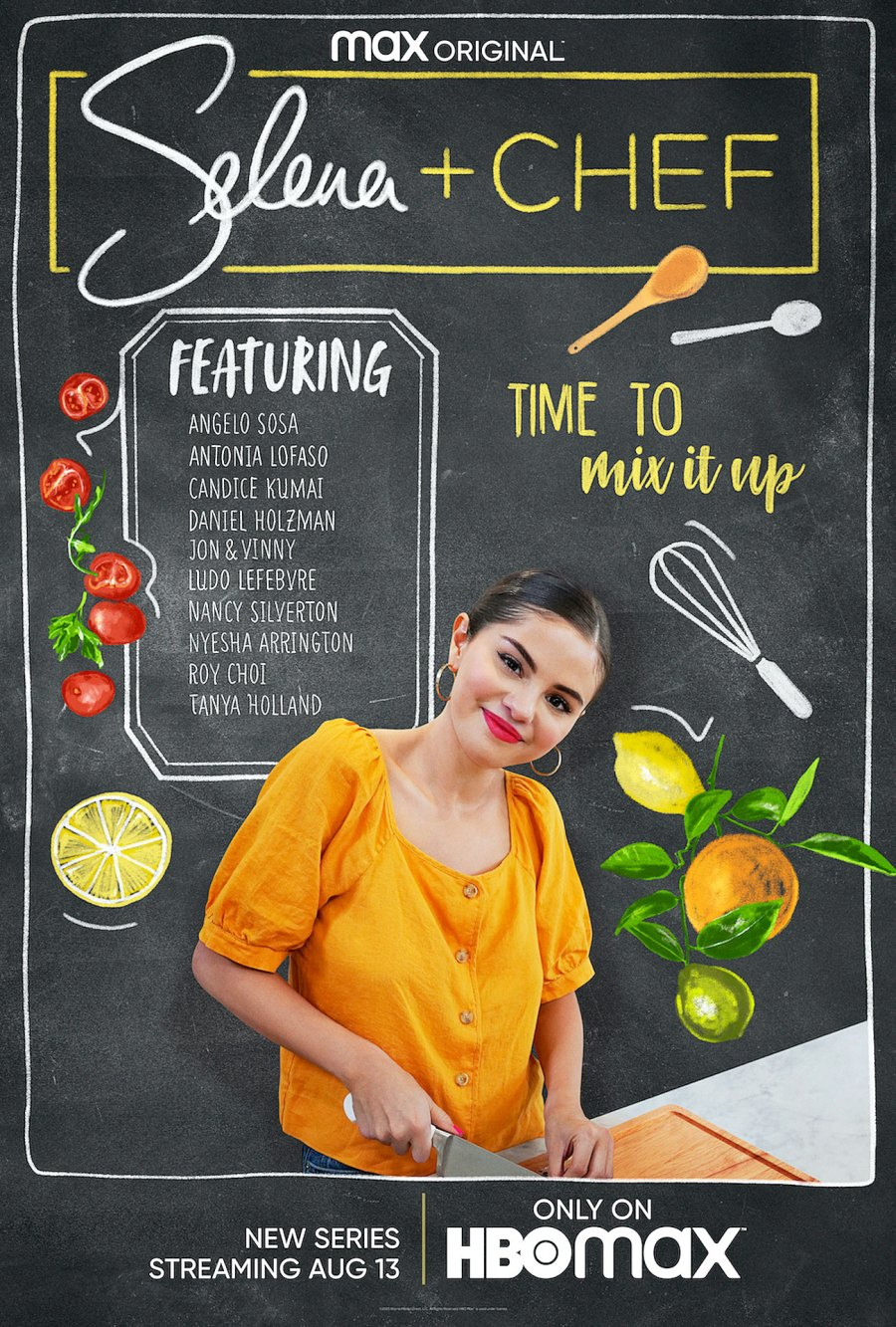 The Most Candid Moments From Selena Gomez Selena + Chef