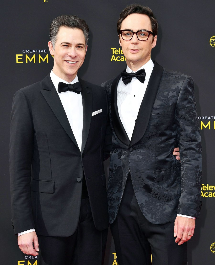 Todd Spiewak and Jim Parsons Hollywoods Gay Power Couples
