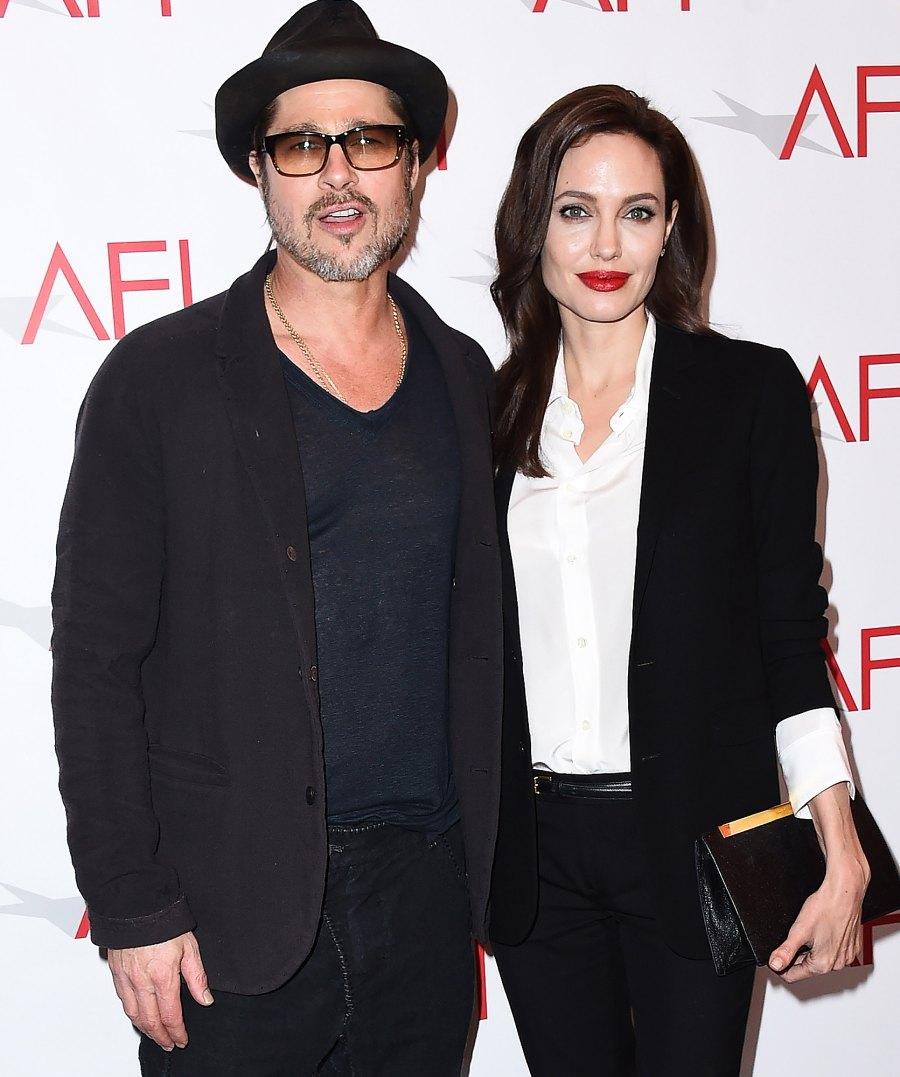 10 Angelina Jolie and Brad Pitt Ups and Downs divorce