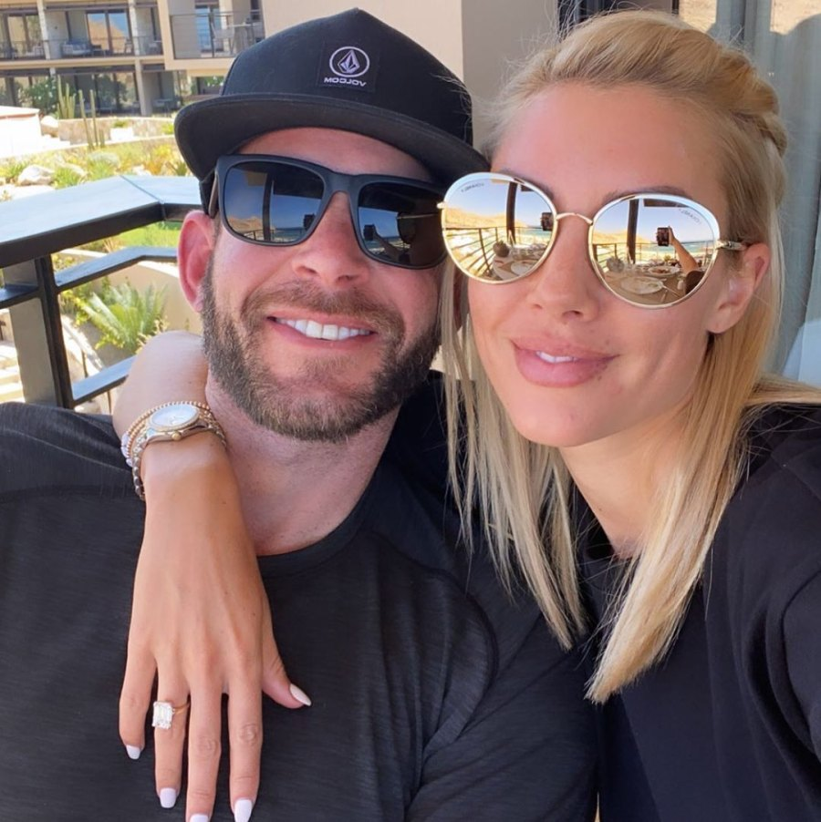 10 July 2020 engagement Tarek El Moussa and Heather Rae Young's Relationship Timeline