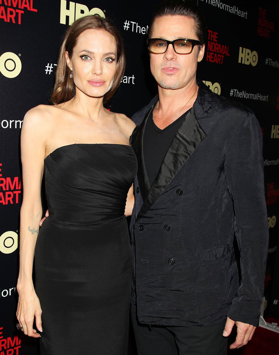 11 Angelina Jolie and Brad Pitt Ups and Downs divorce
