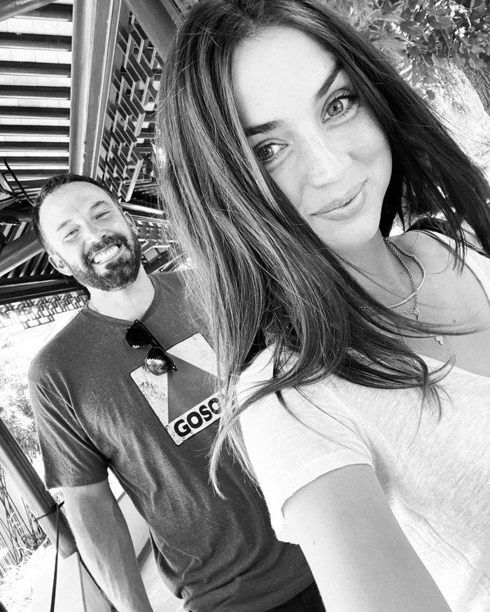 Ben Affleck Smiles in Cute Selfie With Girlfriend Ana de Armas