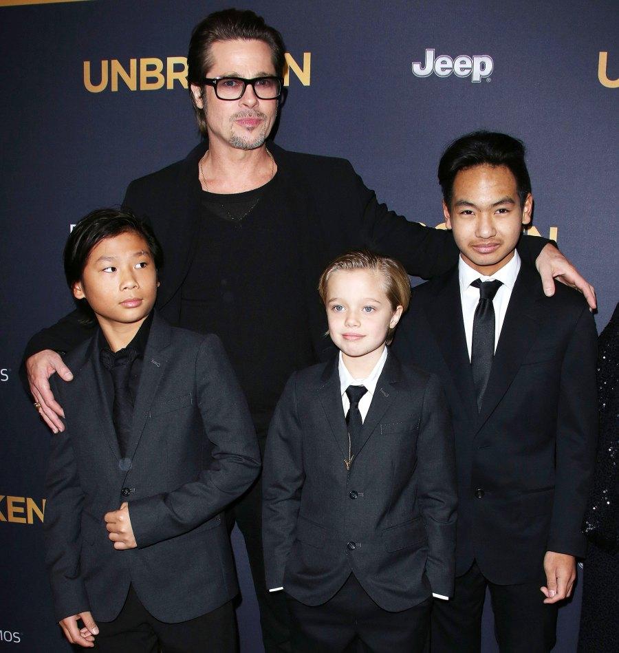 12 Angelina Jolie and Brad Pitt Ups and Downs divorce