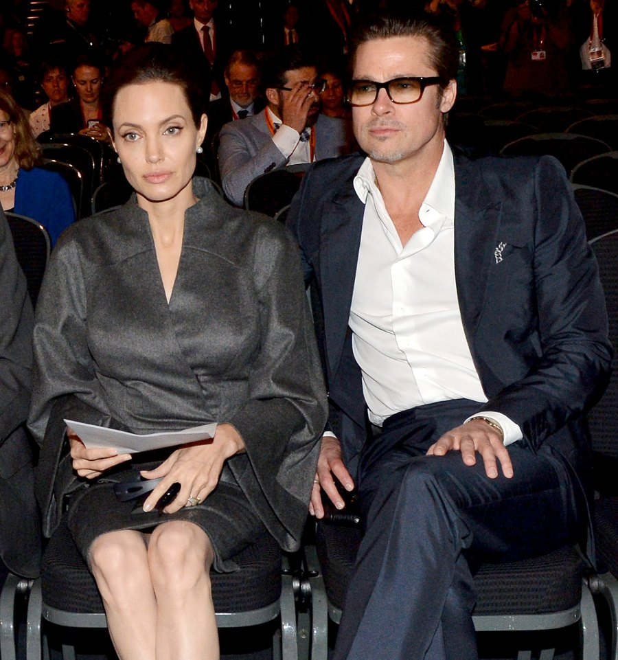 13 Angelina Jolie and Brad Pitt Ups and Downs divorce
