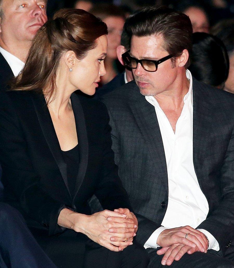 14 Angelina Jolie and Brad Pitt Ups and Downs divorce