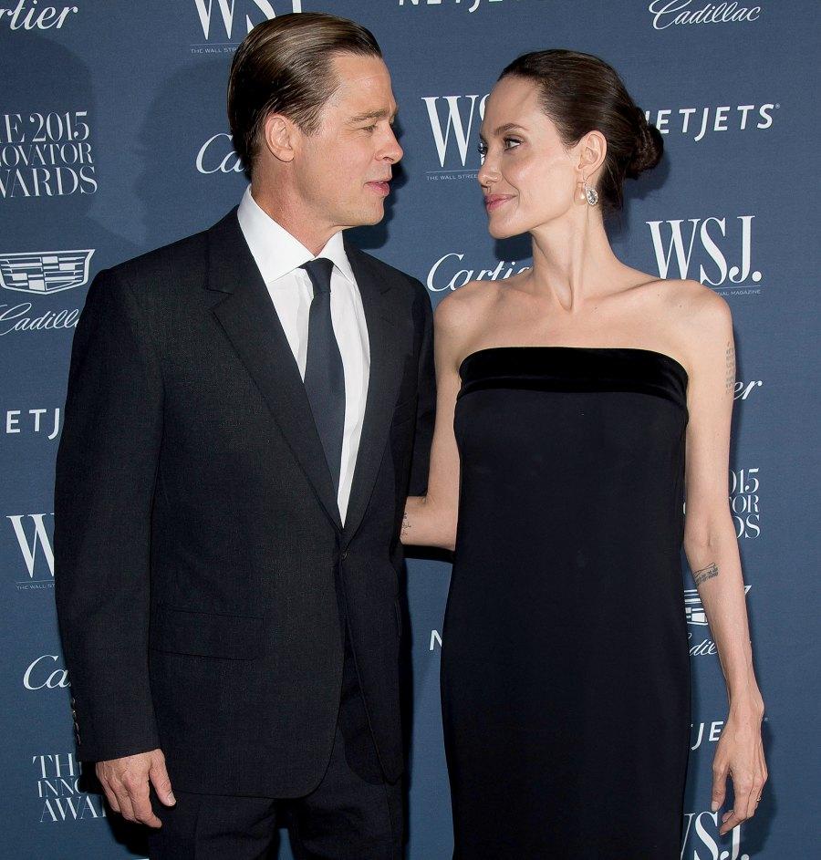 6 Angelina Jolie and Brad Pitt Ups and Downs divorce