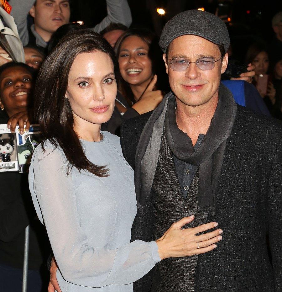 8 Angelina Jolie and Brad Pitt Ups and Downs divorce