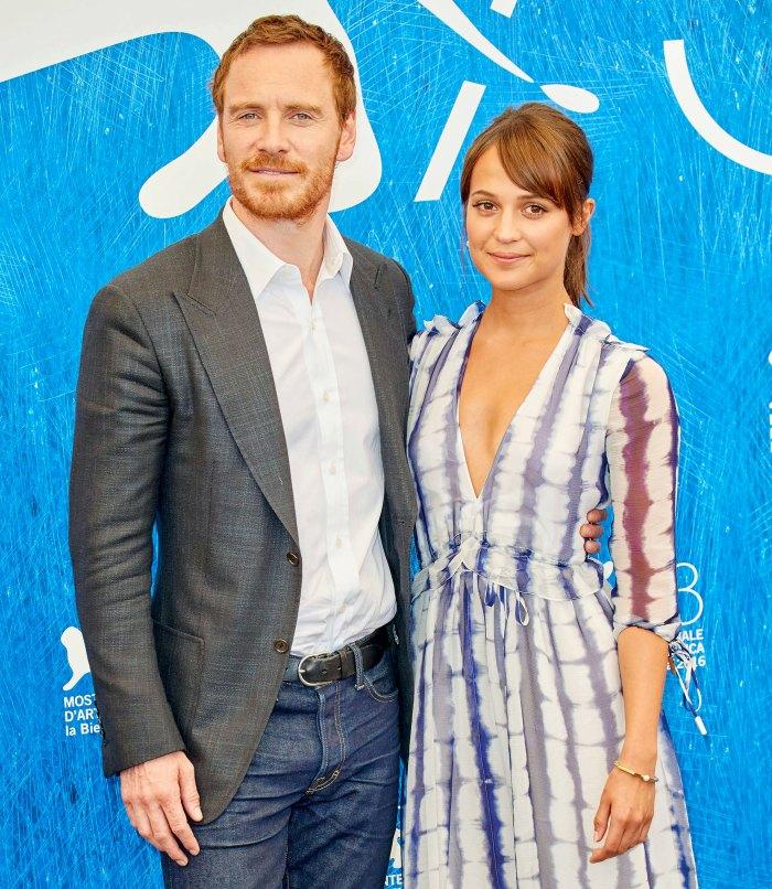 Alicia Vikander está embarazada de su primer hijo y de Michael Fassbender