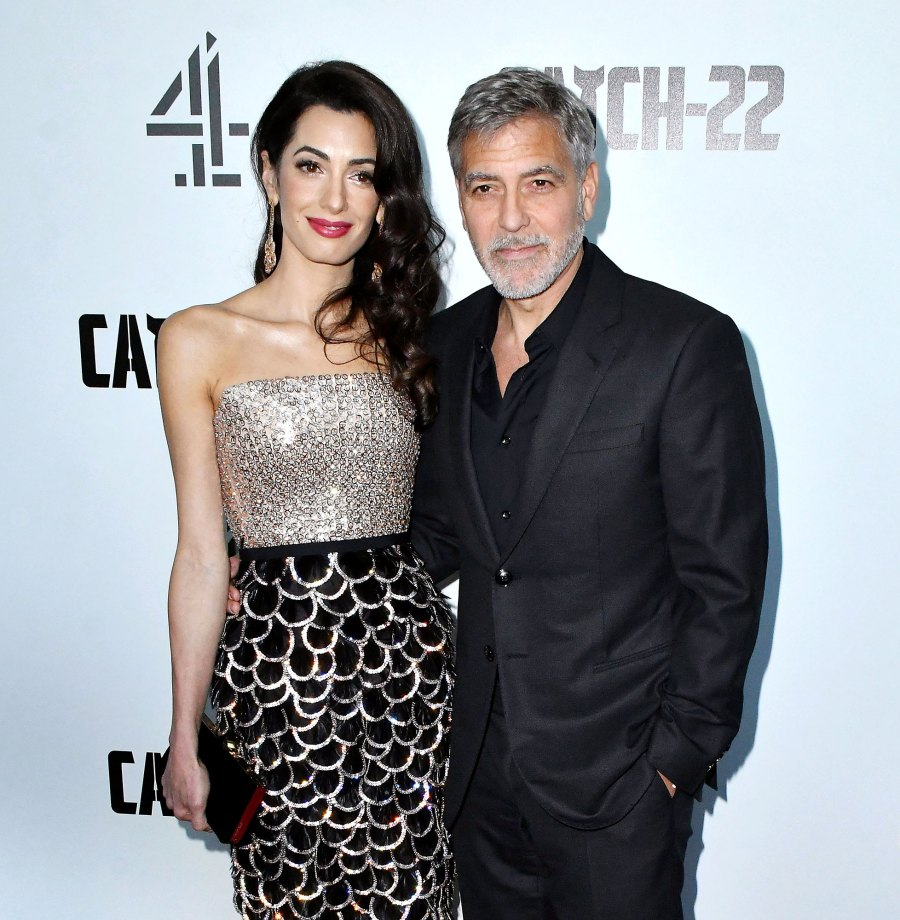 Amal Clooney and George Clooney Stars Who Give Back to Charity