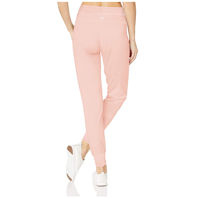 Amazon Essentials Women's Studio Terry Relaxed-Fit Jogger Pant (Lotus)