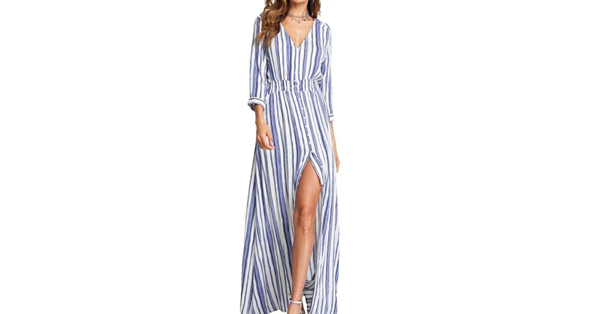 This Affordable Maxi Dress Is Available in So Many Trendy Prints