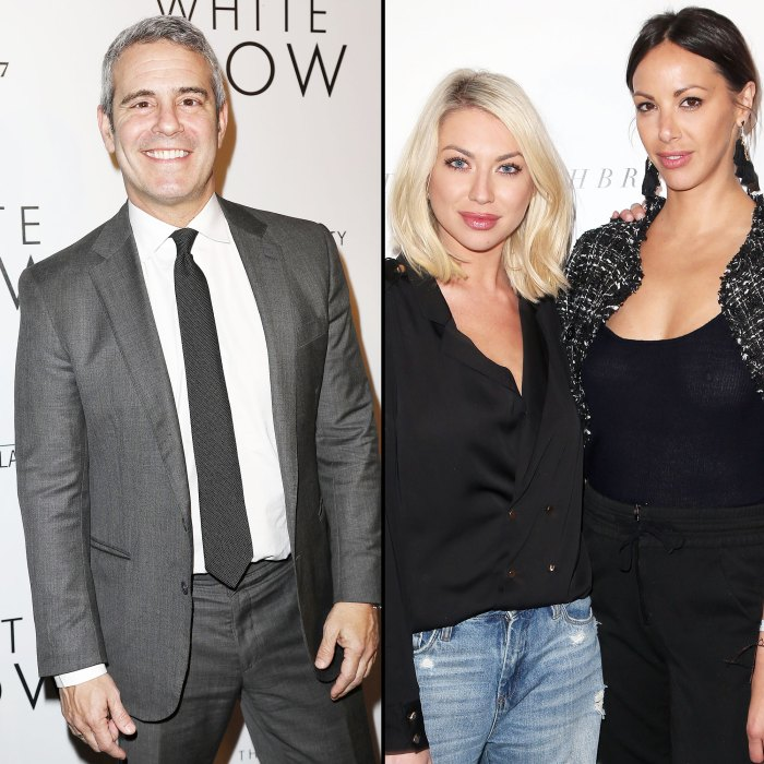 Andy Cohen Says He Owes Stassi Schroeder and Kristen Doute a Text