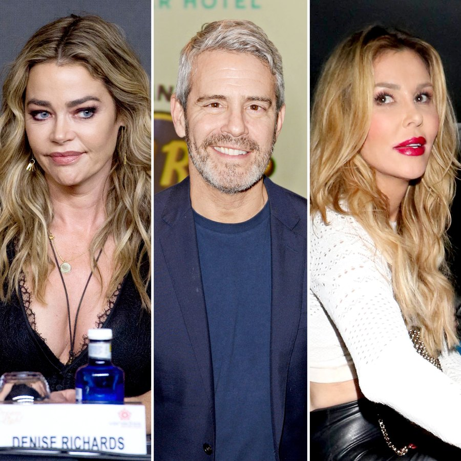Andy Cohen and RHOBH Stars Reveal If They Believe Denise Richards or Brandi Glanville Amid Affair Accusations