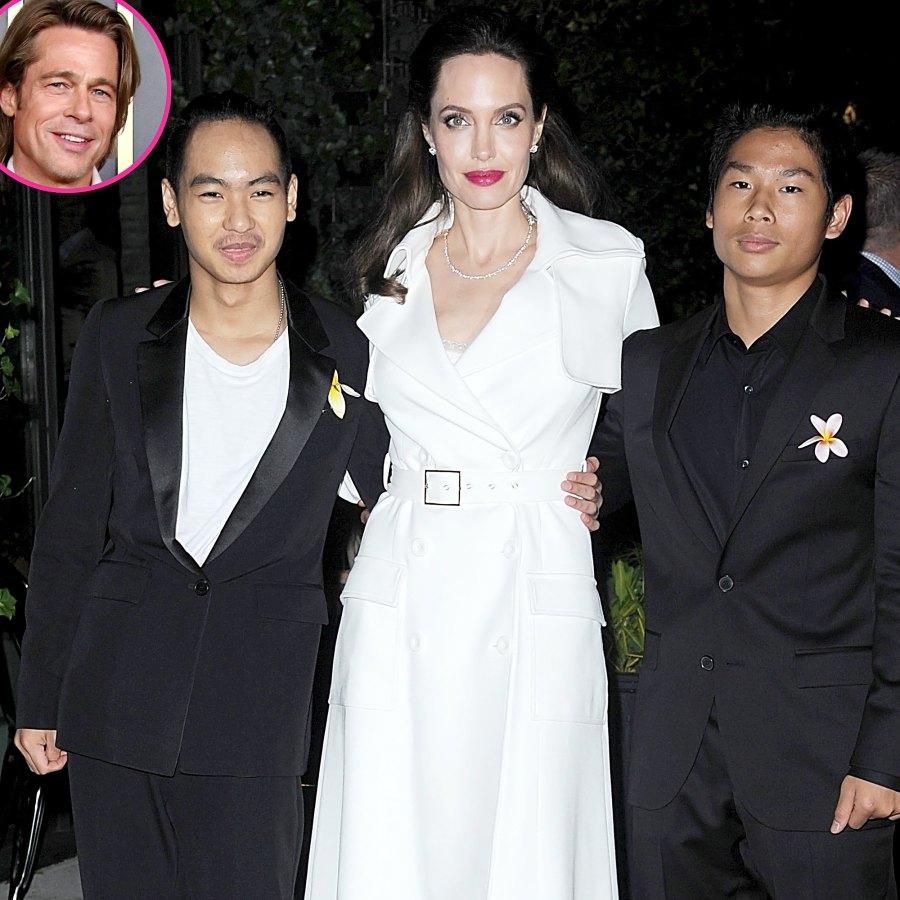 Angelina Jolie Advocating For Older Kids Make Up With Brad Pitt