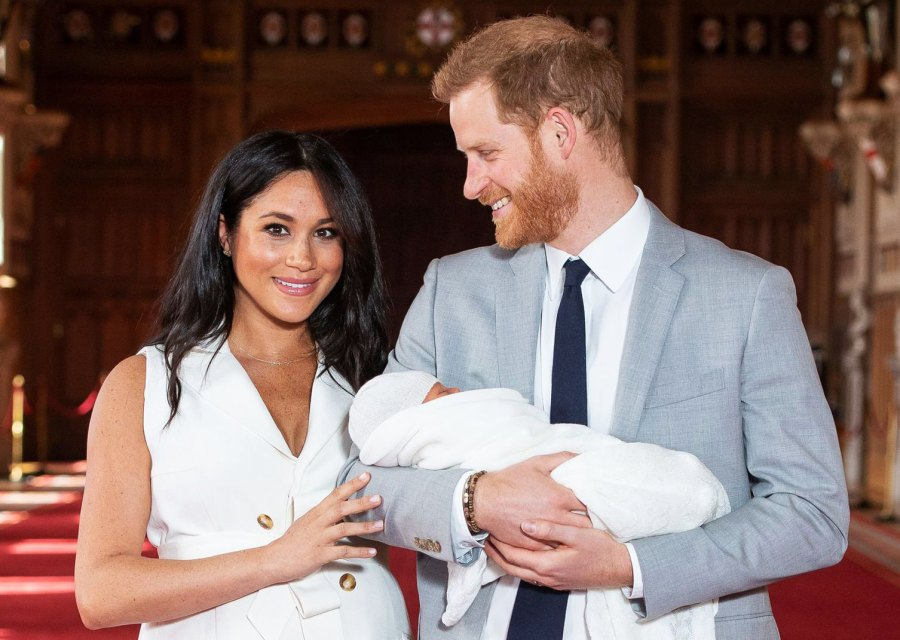 Baby Archie Meghan Markle Prince Harry Finding Freedoms