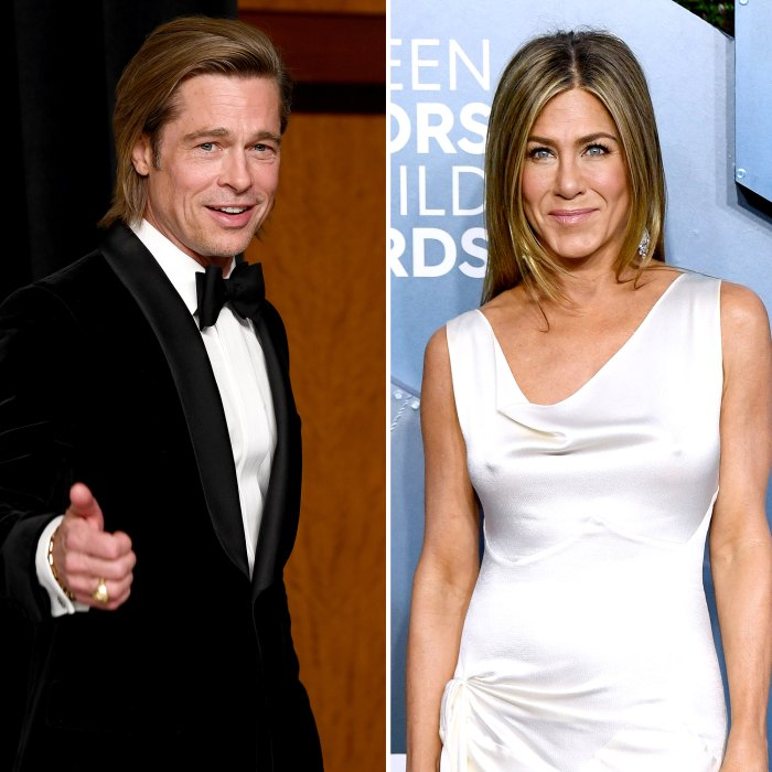 Brad Pitt Joins Jennifer Aniston for Fast Times Table Read