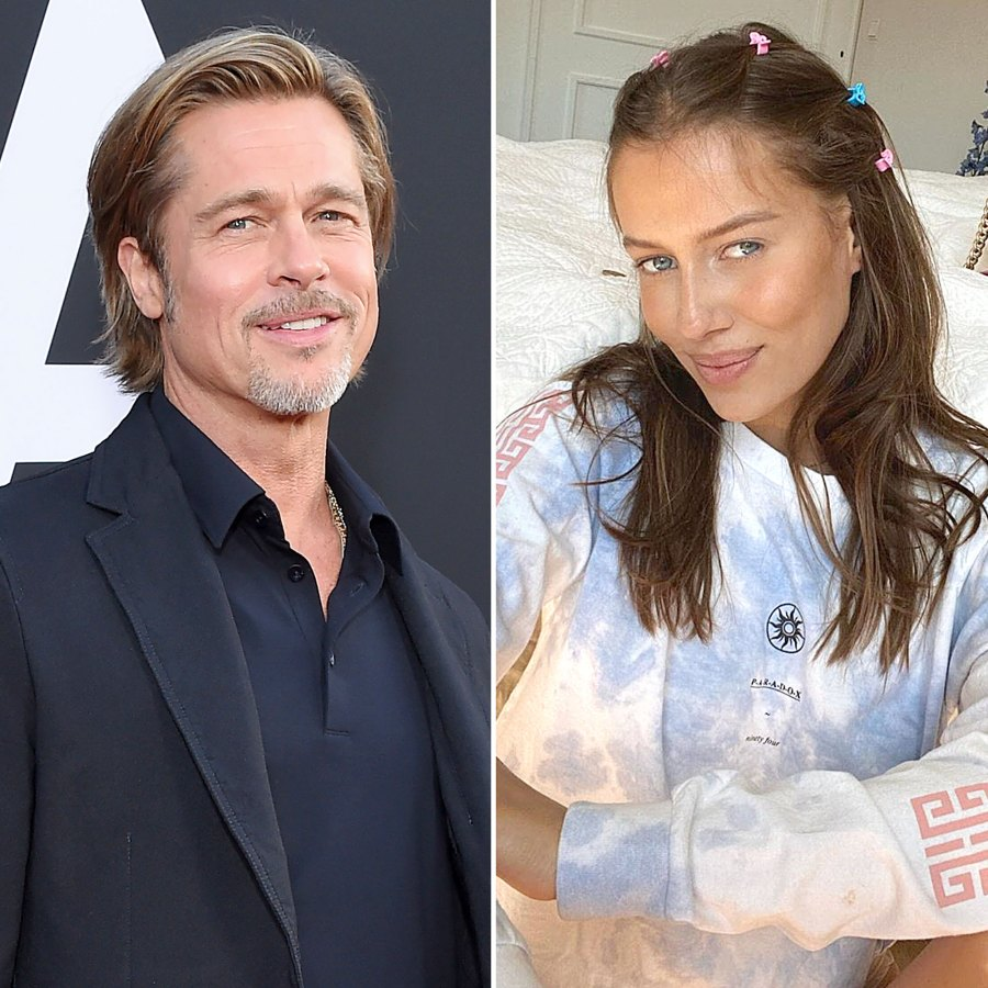Brad Pitt Rumored Girlfriend Nicole Poturalski 5 Things To Know