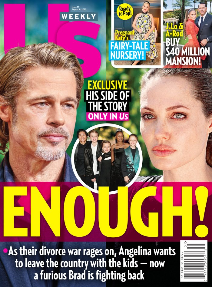 Brad Pitt Thinks Angelina Jolie Has Gone Way Too Far Court Battle Heats Up