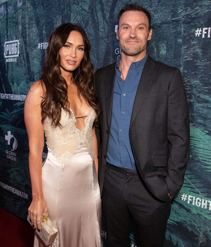 Brian Austin Green and Megan Fox Communicate 'as Much as' Possible While Coparenting Amid Divorce